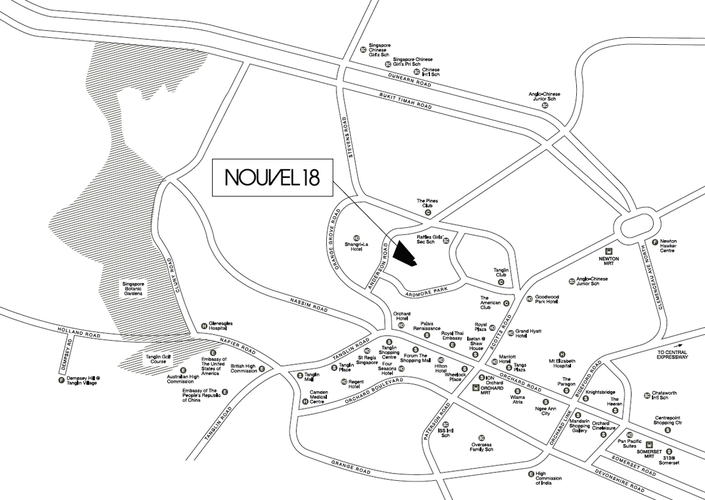 Nouvel 18 Location Map